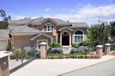 Newbury Park Single Family Home For Sale: 1995 Rudolph Drive