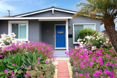 Ventura Single Family Home For Sale: 612 Arbor Avenue