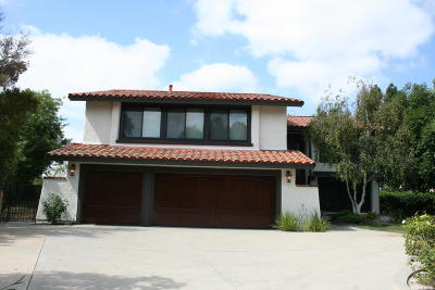 Thousand Oaks Single Family Home For Sale: 2096 McCrea Road