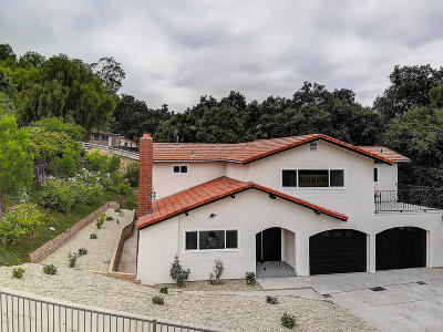 Agoura Hills Single Family Home For Sale: 5712 Fairview Place