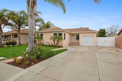 Port Hueneme Single Family Home For Sale: 657 Joyce Drive