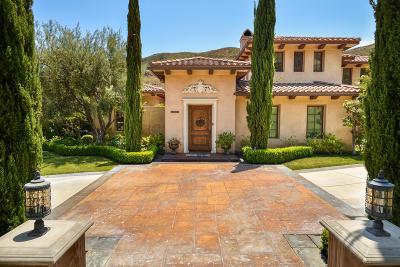 Agoura Hills Single Family Home For Sale: 29462 Malibu View Court