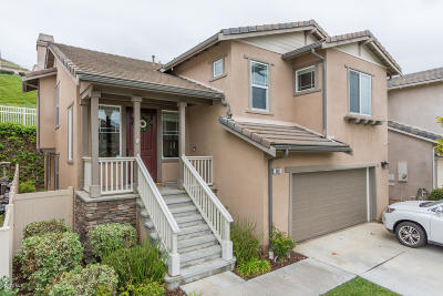 Santa Paula Single Family Home For Sale: 868 Coronado Circle #46
