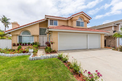 Oxnard Single Family Home For Sale: 1840 Devonshire Drive