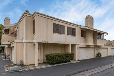 Ventura Condo/Townhouse Active Under Contract: 1320 San Simeon Court #1