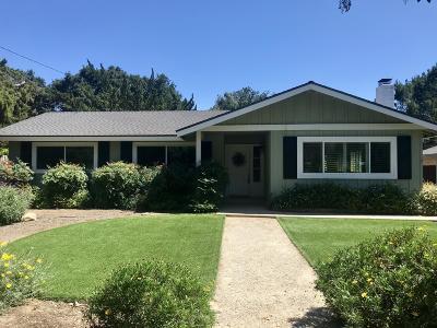 Ojai Single Family Home For Sale: 1994 E Ojai Avenue