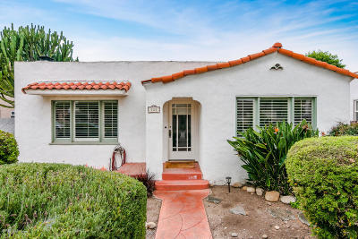 Ventura Single Family Home For Sale: 525 Coronado Street