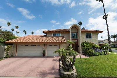 Oxnard Single Family Home For Sale: 1640 Carmen Way