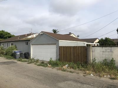 Oxnard Single Family Home For Sale: 341 I Street