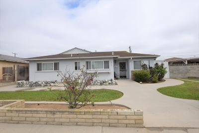 Oxnard Single Family Home For Sale: 918 W Guava Street