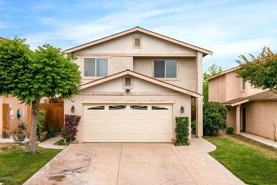 Ventura Single Family Home For Sale: 1564 Deschutes Avenue