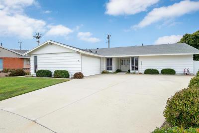 Ventura Single Family Home For Sale: 758 Aspen Court