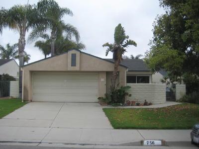 Ventura Single Family Home For Sale: 756 Opal Avenue