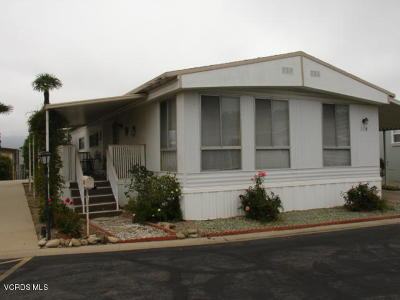Ventura County Mobile Home Active Under Contract: 110 Don Carlos