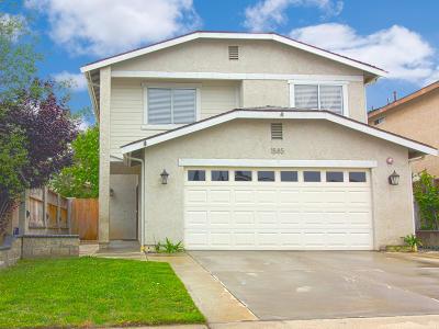Ventura Single Family Home Active Under Contract: 1585 Matthews Avenue