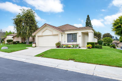 Camarillo Single Family Home Active Under Contract: 208 Novina Place