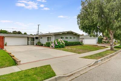 Ventura Single Family Home For Sale: 4448 Varsity Street