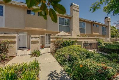 Oxnard Condo/Townhouse For Sale: 5315 Columbus Place