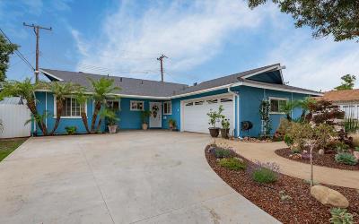 Ventura Single Family Home Active Under Contract: 1691 Radnor Avenue