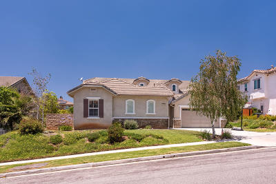 Simi Valley Single Family Home For Sale: 3775 Sable Ridge Court
