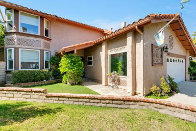 Thousand Oaks Single Family Home For Sale: 255 Fox Hills Drive