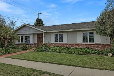 Ventura Single Family Home For Sale: 105 Taft Avenue