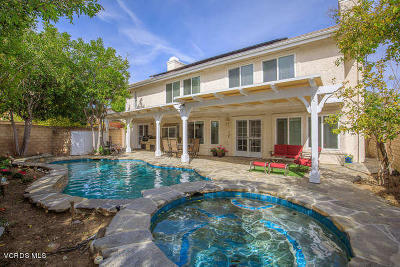 Agoura Hills Single Family Home For Sale: 5530 Buffwood Place
