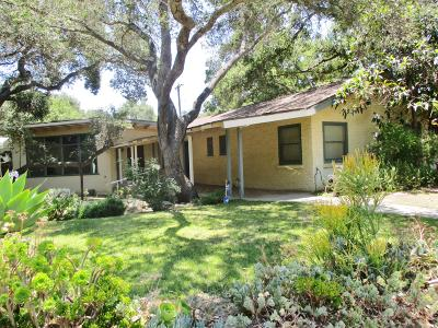 Santa Paula Single Family Home For Sale: 1334 Manzanita Drive