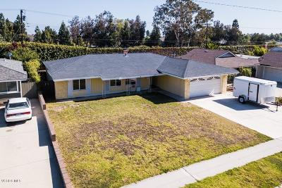 Ventura Single Family Home For Sale: 5392 Lafayette Street
