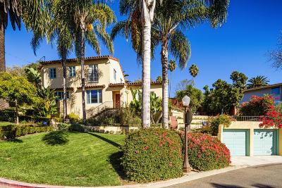 Ventura Single Family Home For Sale: 476 Catalina Street