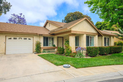 Camarillo Single Family Home Active Under Contract: 44139 Village 44