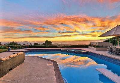 Thousand Oaks Single Family Home For Sale: 3525 Avenida Montuoso