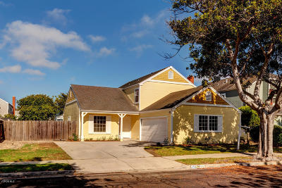 Oxnard Single Family Home For Sale: 1140 Rivas Lane