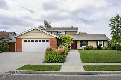 Thousand Oaks Single Family Home For Sale: 3677 Consuelo Avenue