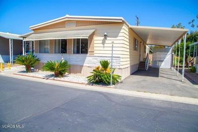 Santa Paula Mobile Home For Sale: 500 W Santa Maria Street #2
