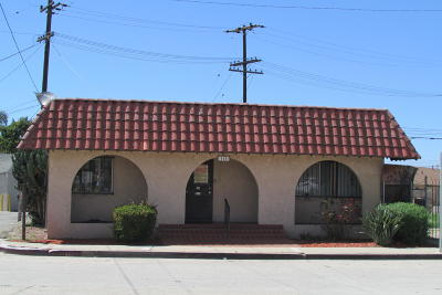 Oxnard Commercial For Sale: 115 Palm Drive