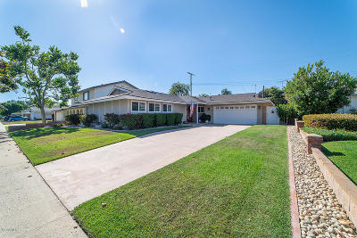 Camarillo Single Family Home Active Under Contract: 1643 Edgemont Drive