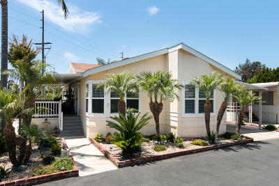 Ventura Mobile Home Active Under Contract: 9 Debussy Lane