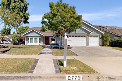 Simi Valley Single Family Home For Sale: 2778 Deerwood Avenue