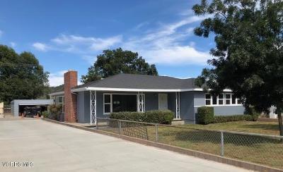 Santa Paula Multi Family Home For Sale: 1345 Ojai Road
