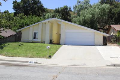 Santa Paula Single Family Home For Sale: 1118 Fuchsia Lane