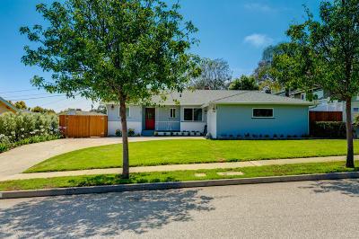 Ventura Single Family Home Active Under Contract: 351 Dorothy Avenue