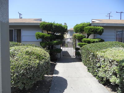 Oxnard Multi Family Home For Sale: 1325 Devonshire Drive #D