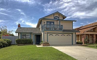 Ventura Single Family Home For Sale: 10196 Jamestown Street