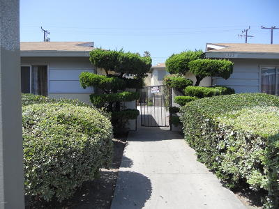 Oxnard Multi Family Home For Sale: 1335 Devonshire Drive #D
