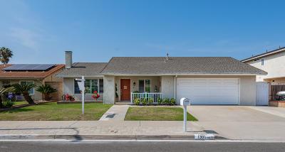 Oxnard Single Family Home For Sale: 1301 Indigo Place