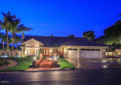 Thousand Oaks Single Family Home For Sale: 1397 Lynnmere Drive