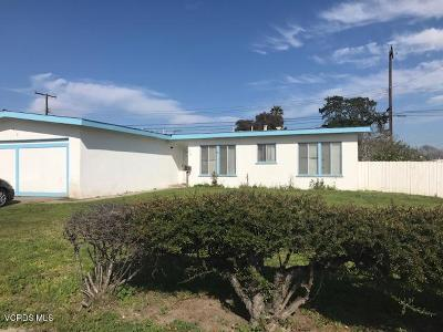 Oxnard Single Family Home Active Under Contract: 1530 Visalia Street