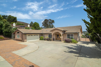 Thousand Oaks Single Family Home For Sale: 1334 Camino Cristobal