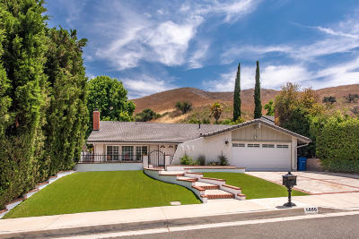 Agoura Hills Single Family Home Active Under Contract: 5886 Carell Avenue